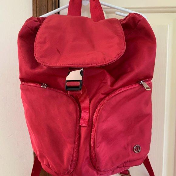 Lululemon Carry Onward Rucksack Mini 9L Red Bag